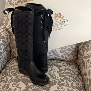 """Coach """"Tristee"""" boot size 7"""